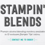 No Tricks all treats- Stampin' Blends