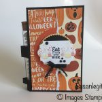 Spooky Cat stamp set with Test Tubes