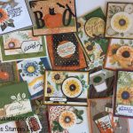 Fall card assortment