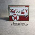 Santa's Suit stamp set
