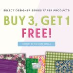 Designer Series Paper on sale this month