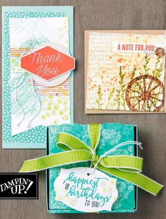 Gallery Grunge set by Stampin' Up!