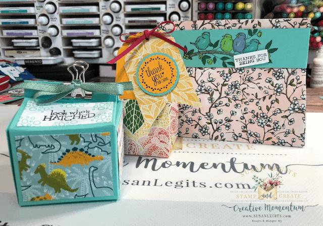 Designer Series Paper boxes