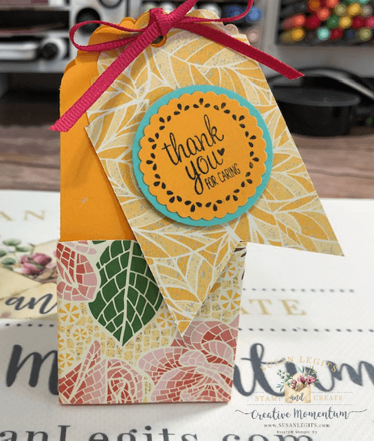 Tag Topper box with tag