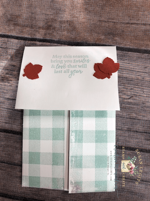 Gather Together gift card holder