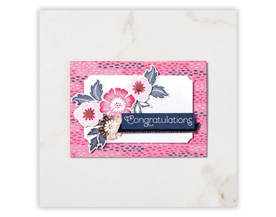 Everything is Rosy pink card