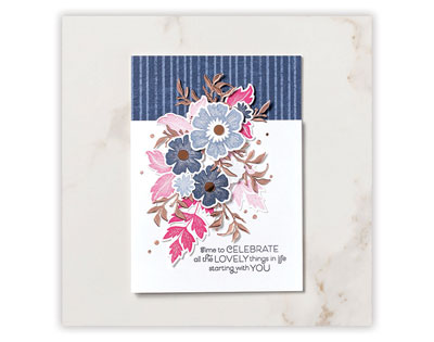 Everything is Rosy floral card