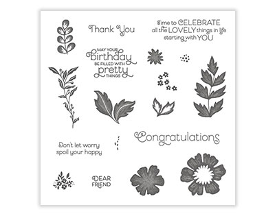 Everything is Rosy stamp set