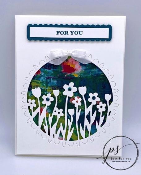 Sending Flowers card