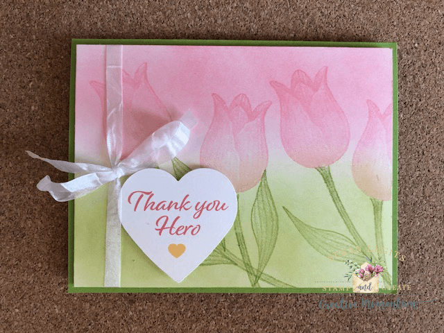 Timeless Tulips card