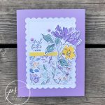Hand-Penned Petals Card