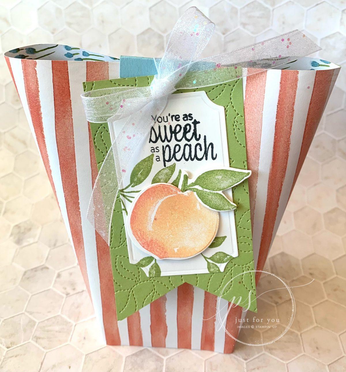 Sweet as a Peach Bag